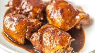 Sweet Chicken Asado