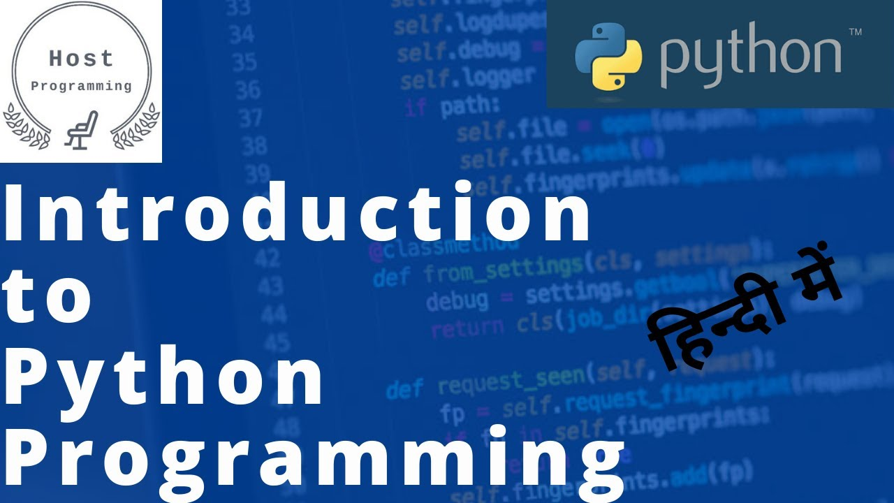 Python Tutorials For Beginners In Hindi | Introduction