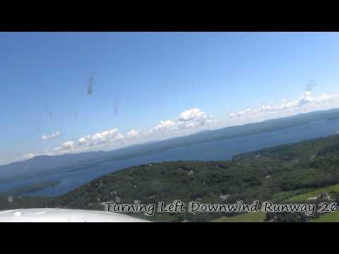 Landing Laconia Airport New Hampshire