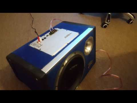 Car amplifier at home using Server Power Supply #update 1