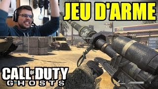 COD GHOSTS : JEU D'ARME | Mode détente en Live
