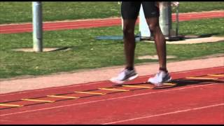 Long Jump Warm Up Agility Ladder Drills