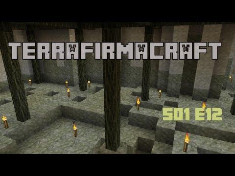Mag0ca Terrafirmacraft Server S01E12 - Industrial mining
