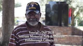 Support Our Troops presents Soldier Stories - Larry - Hillsborough County Veterans Day 2015
