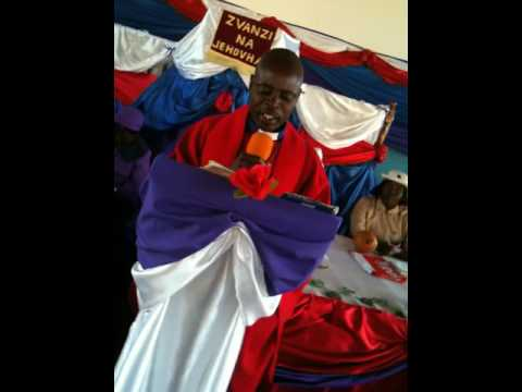 REV T MAPFUMO - METHODIST CHURCH IN ZIMBA---SERMON