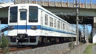 {東武}まだまだ頑張る8000系 野田線高速通過集