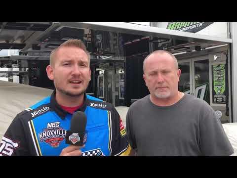Jimmy Owens Pre-Race Interview 9/12/2019