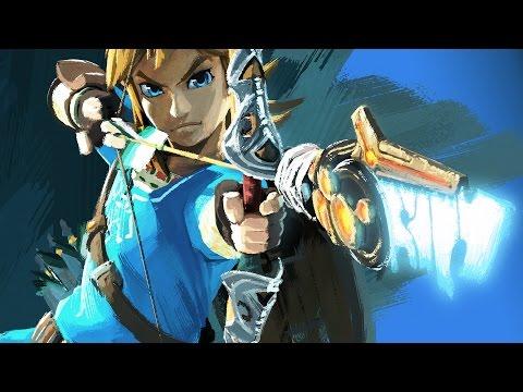 Legend of Zelda: Breath of the Wild Game Movie (FIRST HOUR) HD