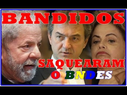 LULA MEXEU NO ESTATUTO DO BNDES FRAUDULENTAMENTE PARA EXPLODIR A JBS.