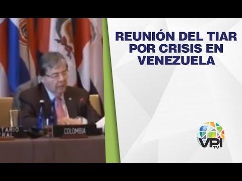 EN VIVO - Reunión Del TIAR Por Crisis En Venezuela
