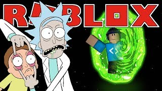 RICK AND MORTY | Roblox Adventures - Roblox Gameplay