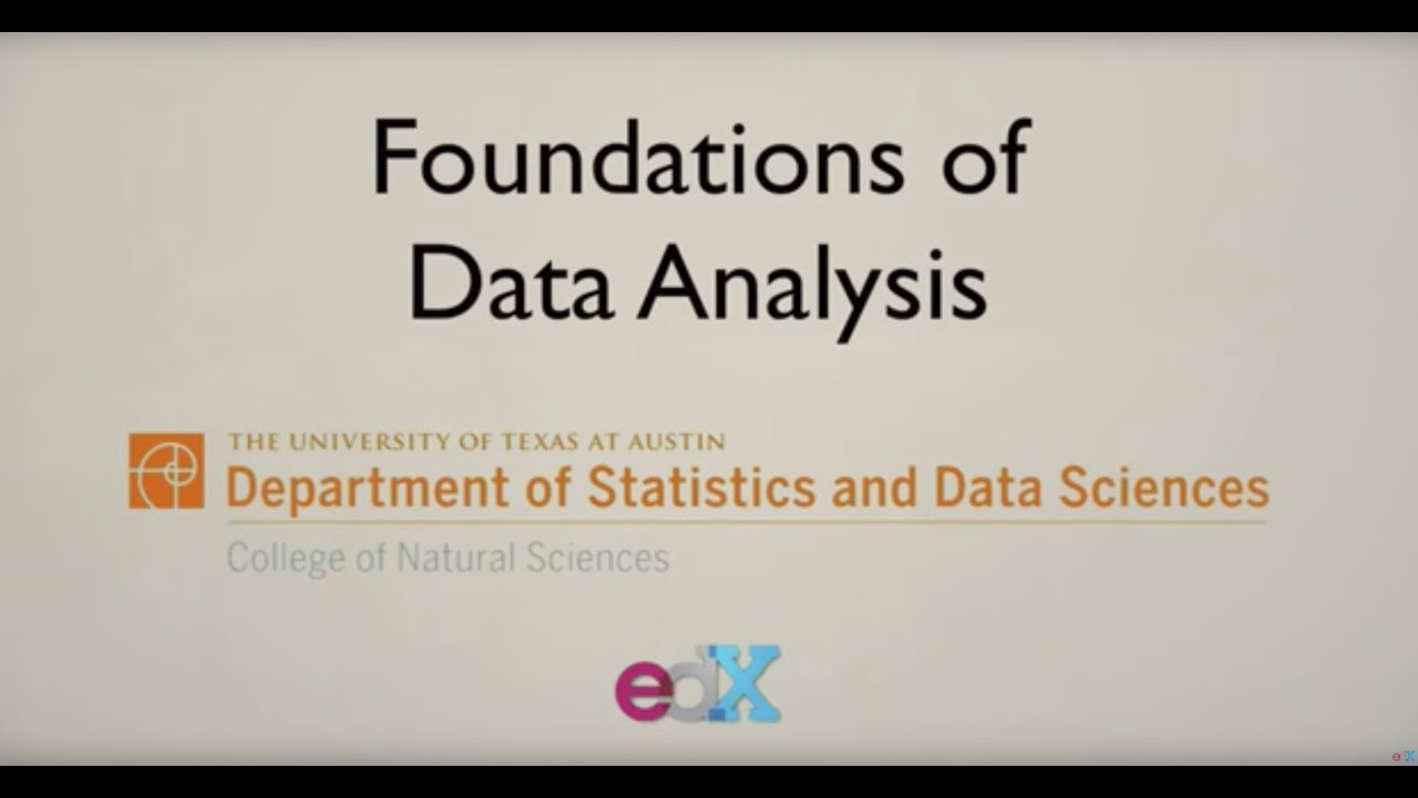 edX - Foundations of Data Analysis - Part 1: Statistics Using R