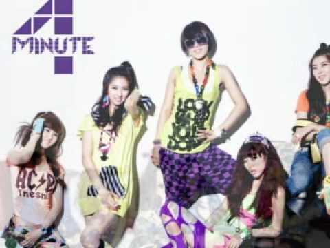 FULL SONG + DOWNLOAD 4 Minute  Hot Issue
