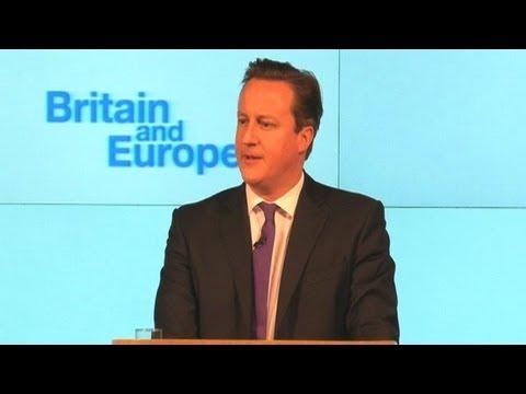 British PM promises referendum on EU by 2017