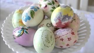 Home decor Ideas with Modern Ceramic Eggs | Decorative Picture Set Of Rare & Beautiful Arts