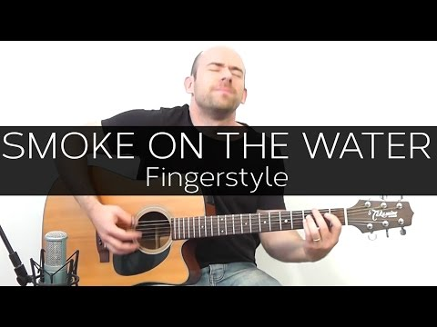 Smoke on the water (Deep Purple) - Acoustic Guitar Solo Cover (Violão Fingerstyle)