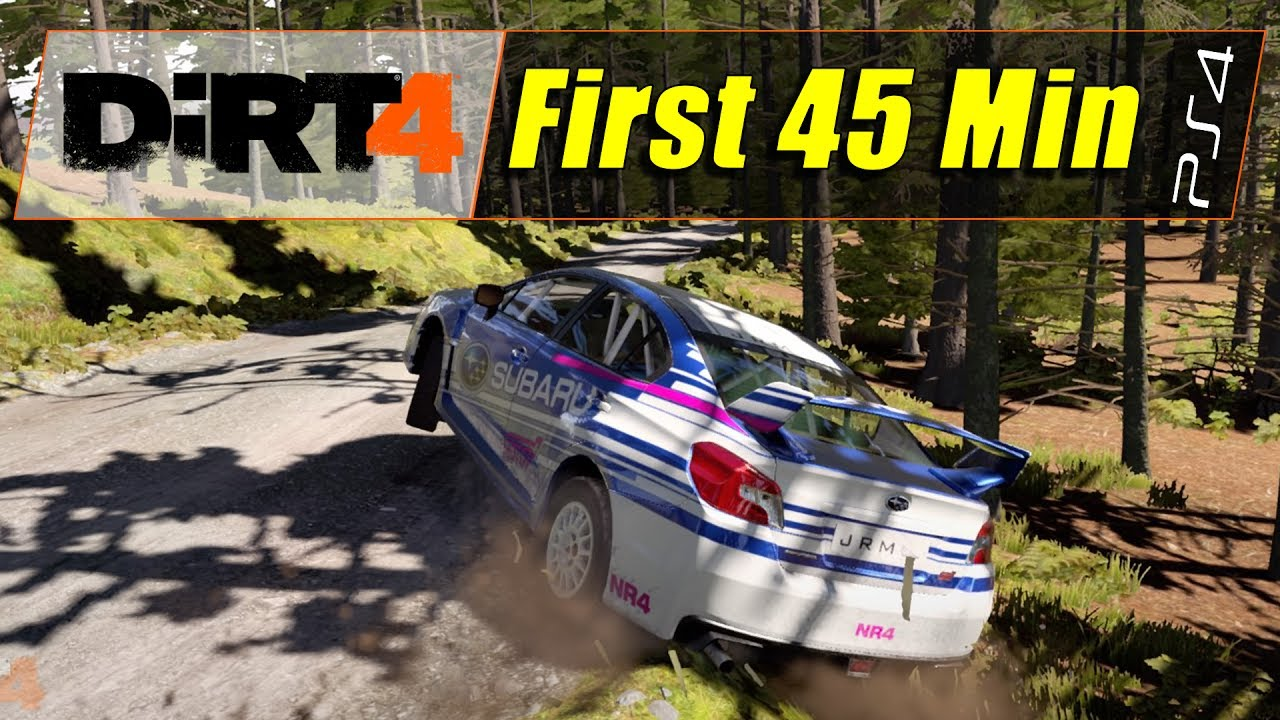 dirt 4 day one edition ps4 first 45 min 1080 60. Black Bedroom Furniture Sets. Home Design Ideas