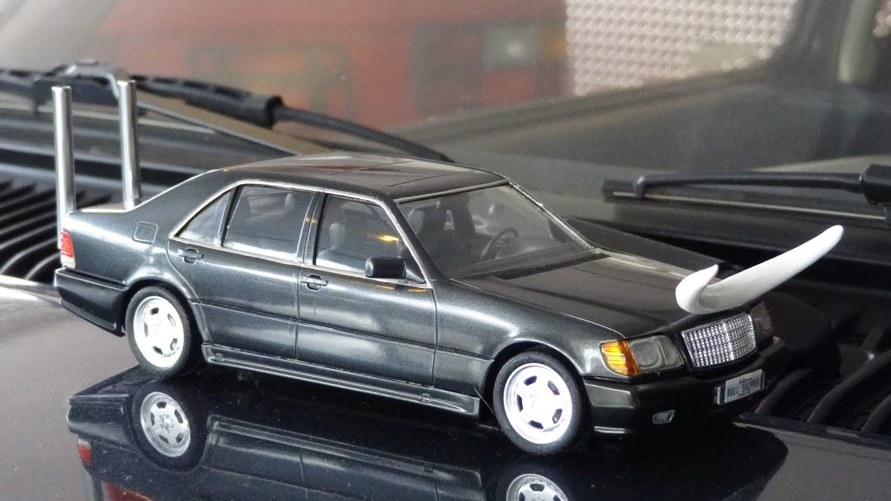 bullshipper mercedes benz w140 model car build s500 models