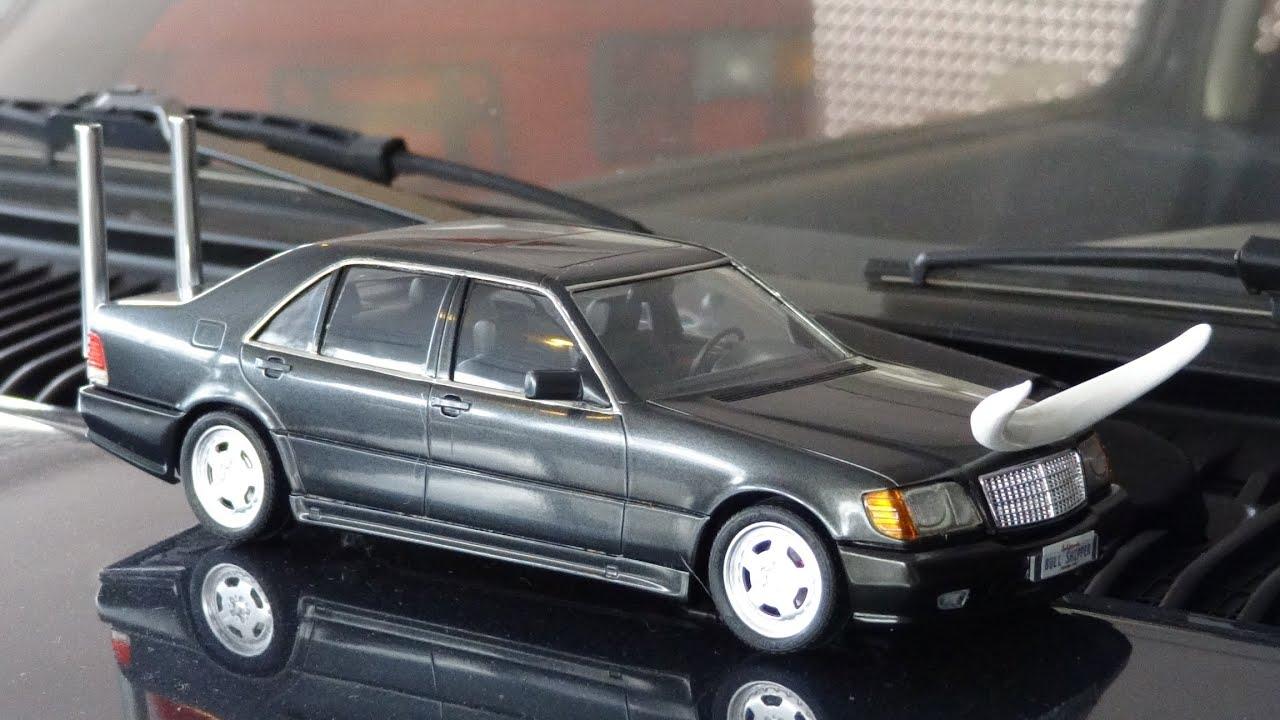 Bullshipper mercedes benz w140 model car build s500 models for Mercedes benz build a car