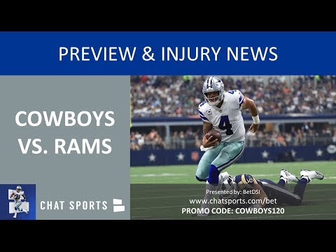 Cowboys vs. Rams Playoffs Preview 2019, Injury News On Cole Beasley, Allen Hurns & Sean Lee Future