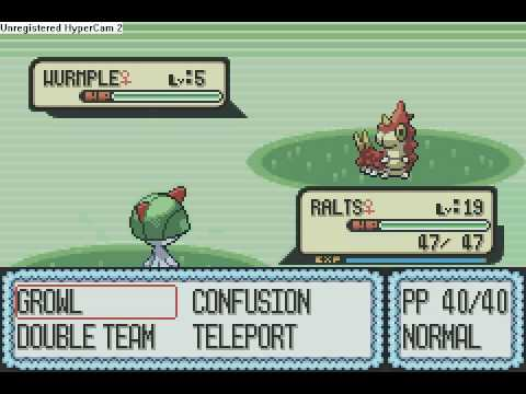 how to find ralts pokemon ruby