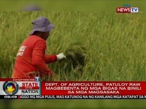 Dept. of Agriculture, patuloy raw magbebenta ng mga bigas na binili sa mga magsasaka
