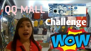 Gambar cover 1000 CHALLENGE|QQ MALL QUIAPO SHOPPING HAUL