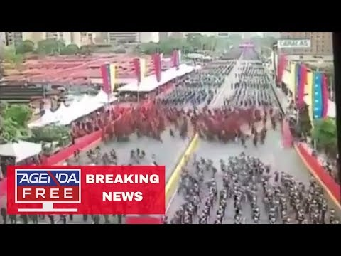 Explosion at Maduro Speech in Venezuela - LIVE BREAKING NEWS COVERAGE