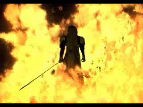 Final Fantasy Vii Fmv Sephiroth Nibleheim Fire