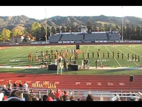 Cabrillo HS Marching band 2010 Fieldshow