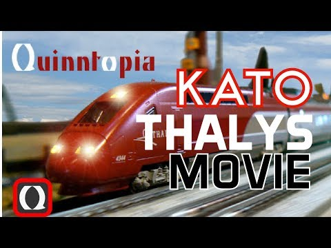 N Gauge Kato Thalys Movie