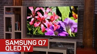 Supersleek Samsung Q7 QLED TV makes wires