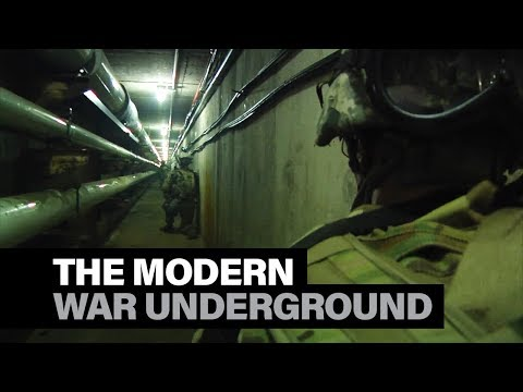 The new Army program to train troops to fight underground