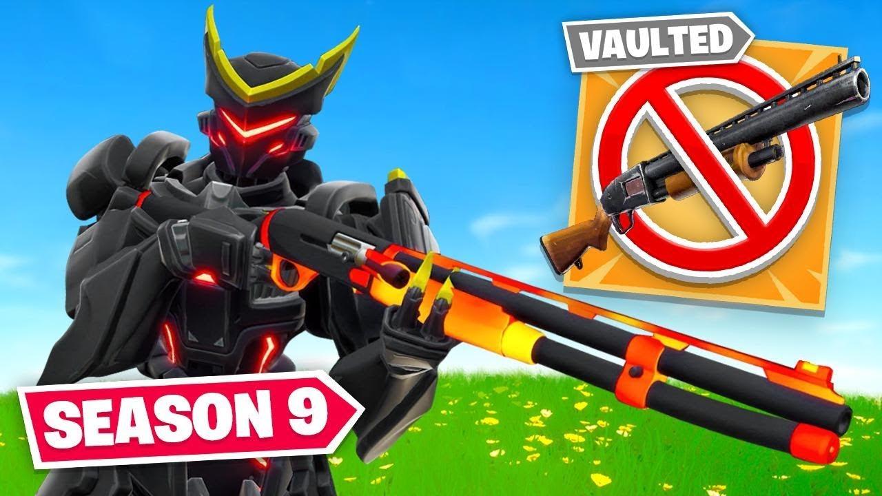 Sie haben die Pump Shotgun für DIESES ... (Fortnite Season 9) + video