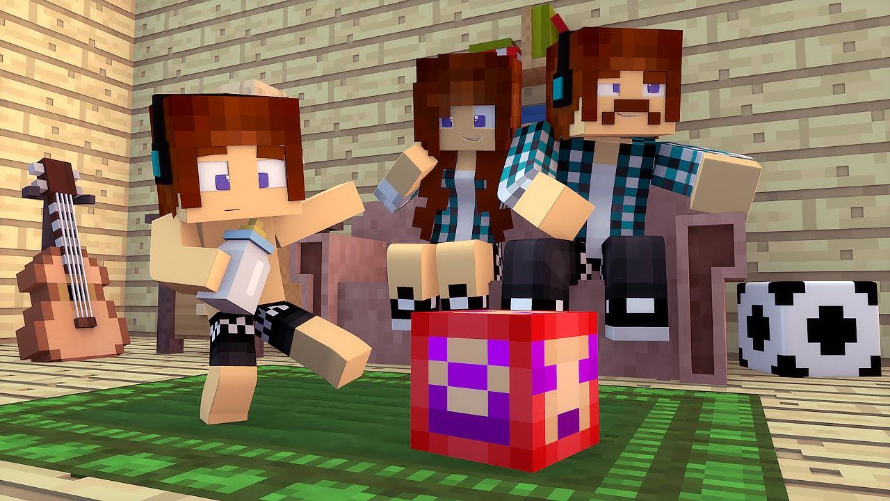 Minecraft : A FAMILIA DO AUTHENTIC !! (Build Battle)