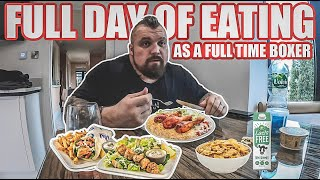 Full day of eating | my new diet as a boxer