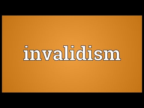 Header of invalidism