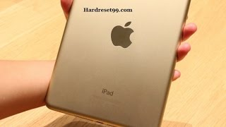 Apple iPad mini 3 Hard reset, Factory Reset & Password Recovery