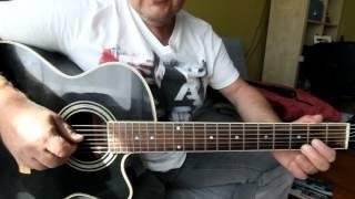 Учимся играть на семиструнной гитаре.Настраиваем  гитару и разучиваем цыганочку. Урок 1