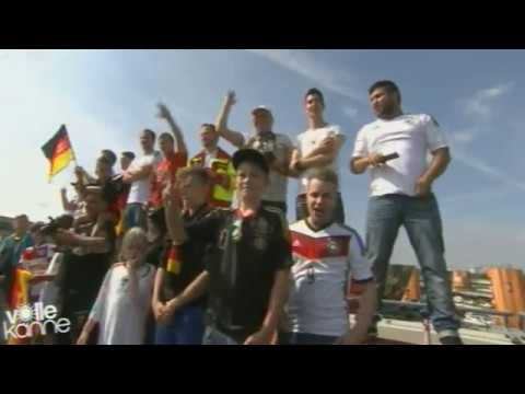FIFA Weltmeister 2014 - Ankunft Deutsche Nationalmannschaft #1