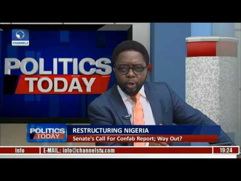 Politics Today: Analysing Nigeria's Restructuring With Reuben Abati Pt 3