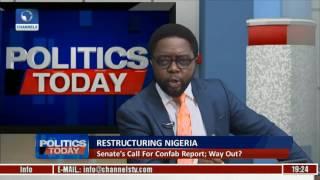 Politics Today: Analysing Nigeria's Restructuring With Reuben Abati Pt 3