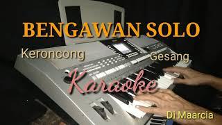 BENGAWAN SOLO ,Gesang KERONCONG Karaoke