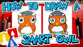 How To Draw A Smart Owl