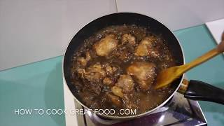 Chicken Adobo Recipe Filipino Style - English Version