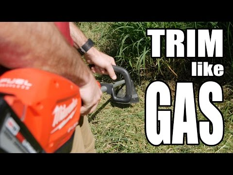 Milwaukee M18 FUEL String Trimmer Kit Review