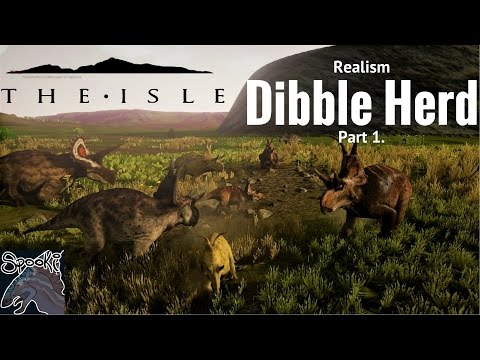 The Isle- Dibble Realism Pt.1, V4, Forming a Herd, Funnies