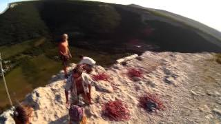 5 грот Качи-Кальон Прыжки с верёвкой в Крыму с командой  Skyline(, 2015-08-18T22:33:41.000Z)