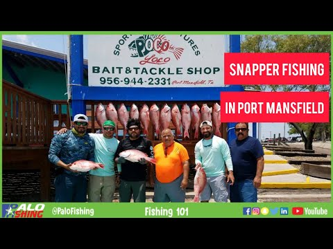 How And Where To Fish For Red Snapper In Port Mansfield, TX