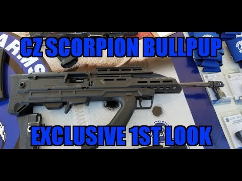 Exclusive CZ Scorpion EVO BullPup Manticore Arms and CZ Come Together!!!